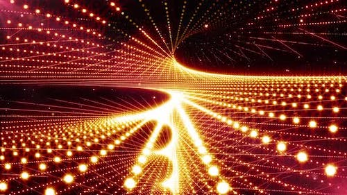 Disco Party Lights Motion Background Loop