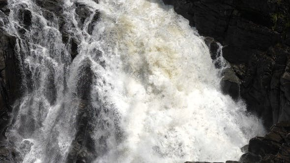Thumbnail for Detail of falling water