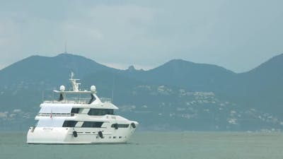 Big Motor Yacht.