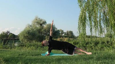 Fitness. Yoga. Stretching