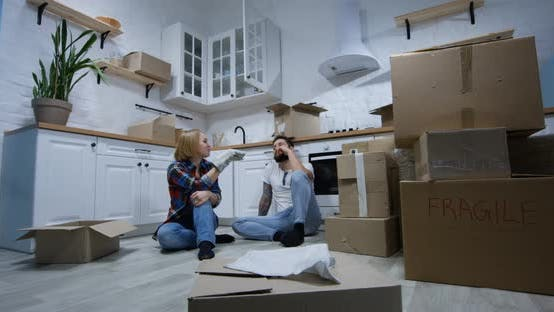 Thumbnail for Young Couple Moving in Their New Home