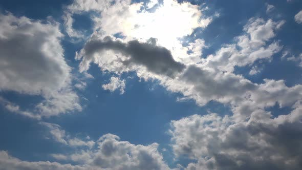 Thumbnail for Softly Grey Clouds And Blue Sunny Sky 17