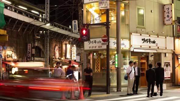 Thumbnail for tokyo night street entertainment