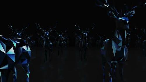 Deer Neon Hd