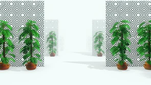 Fashion Palm Tree 03 4k