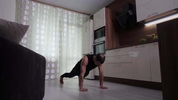 Thumbnail for A Man Performs a Functional Training To Strengthen and Maintain Endurance
