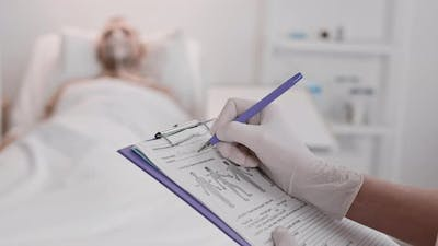 Filling in Patient Information