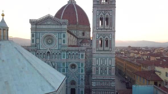 City and Cathedral of Santa Maria Del Fiore. Florence, Tuscany, Italy