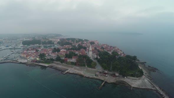 Thumbnail for Aerial view of Rovinj Island