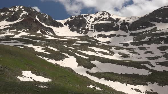 Thumbnail for High Altitude Snowy Alpine Meadow Climate in Spring