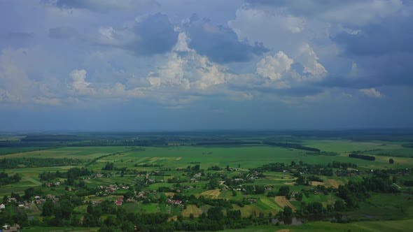 Thumbnail for Aerial View Small Village Of Ukraine