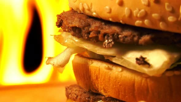 Thumbnail for Hamburger On Fire 4