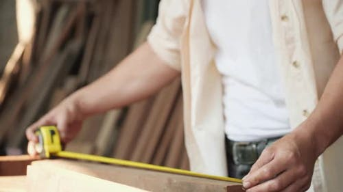 Measure wood