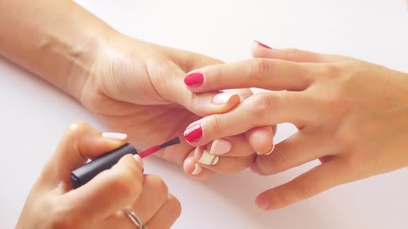 Lacquer on the Nails