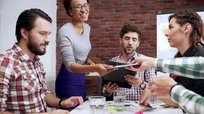 Teamwork at Workspace