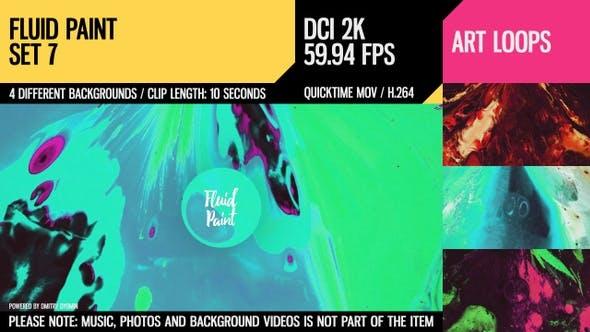Thumbnail for Fluid Paint (2K Set 7)
