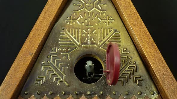 Thumbnail for Wall Clock With Fight Pendulum Cuckoo.