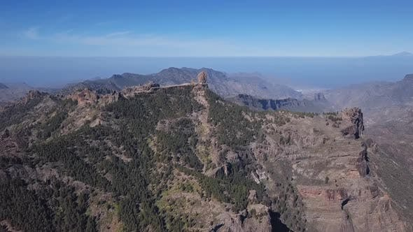 Thumbnail for Aerial of Nublo Rock in Caldera of Tejeda, Gran Canaria