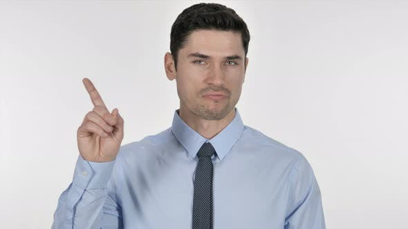 Thumbnail for Portrait of Businessman Waving Finger To Refuse