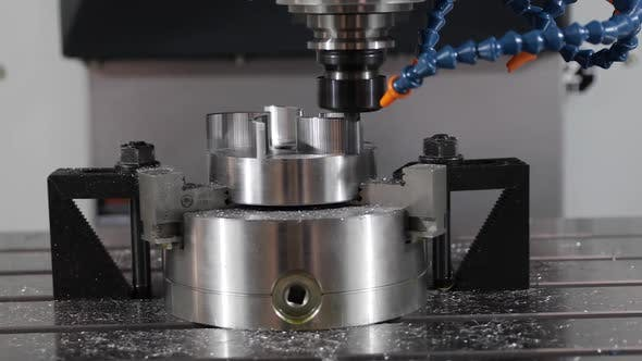 Thumbnail for IMetalworking CNC Milling Machine