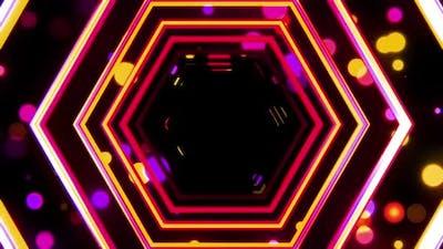 Hexagon Tunnel 01 Hd