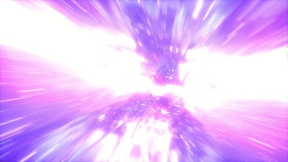 Space Travel Fly Through Galaxy Wormhole 04