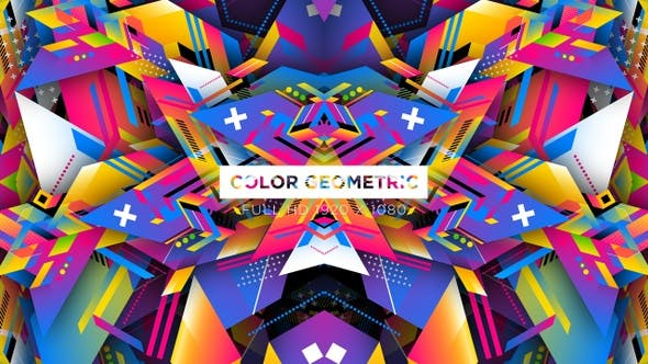 Thumbnail for Color Geometric VJ Loops Fond