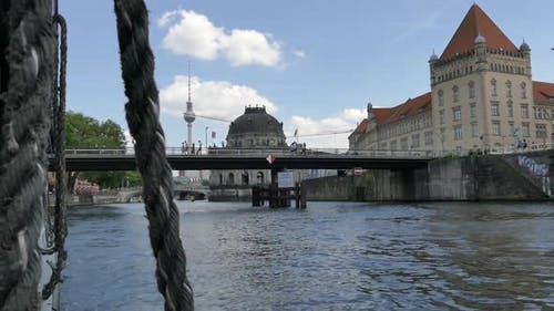 Berlin City - Spree River - Museum Island