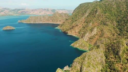 Tropical Island Busuanga, Palawan, Philippines.