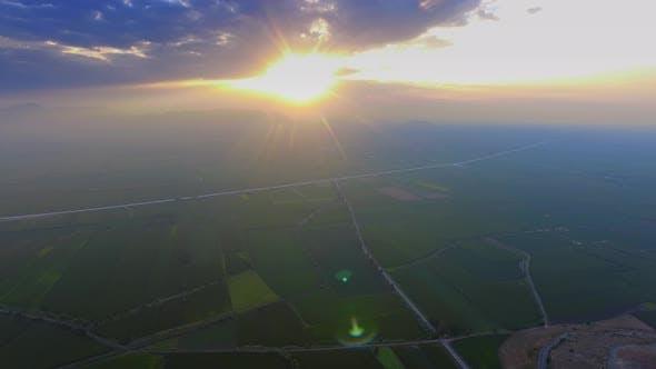 Thumbnail for Sunset Over the Dusty Plain