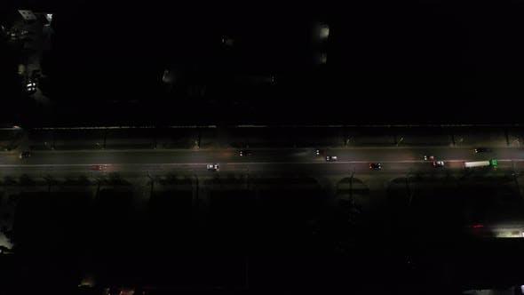 Night City Car Road