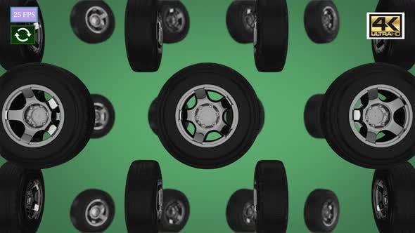 Tire Vertical A 4K