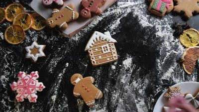 Christmas Cookies Pandemic Protection New Year