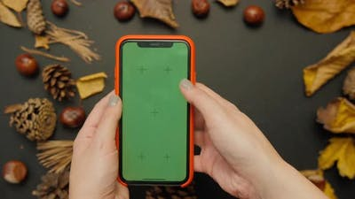 Using Green Screen Smartphone