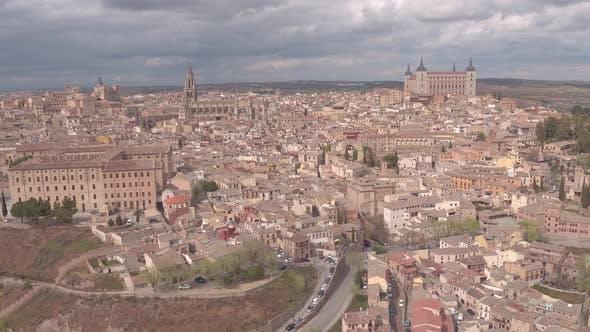 Aerial of Toledo