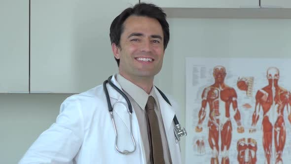 Thumbnail for Portrait of doctor in clinic