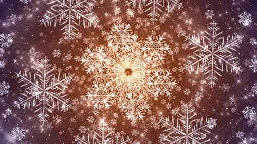 Snowflakes Seamless Bg