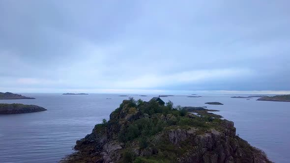 Thumbnail for Scandinavian House on the Promontory of the Norwegian Sea