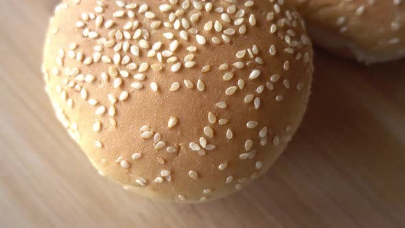 Thumbnail for Hamburger Bread Background