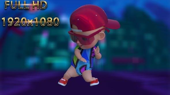 Cartoon Baby Dance V23 - 60 fps