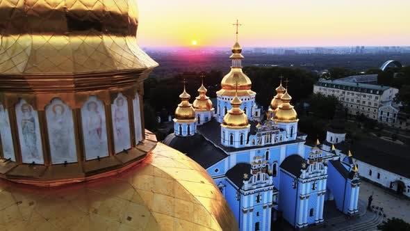 Thumbnail for St. Michael's Golden-Domed Monastery in the Morning. Kyiv, Ukraine