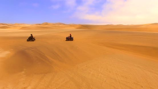 Thumbnail for Off-road Way Surrounded By Dunes