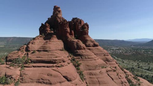 Aerial of the Bell Rock