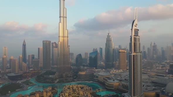 Thumbnail for Scenic aerial view of Dubai cityscape, U.A.E.