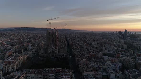 Thumbnail for Barcelona City Sunrise