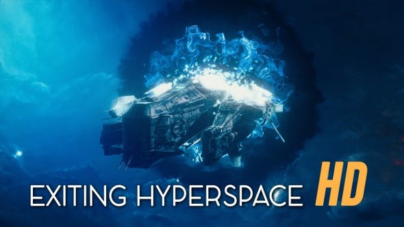 Thumbnail for Exiting Hyperspace Travel HD
