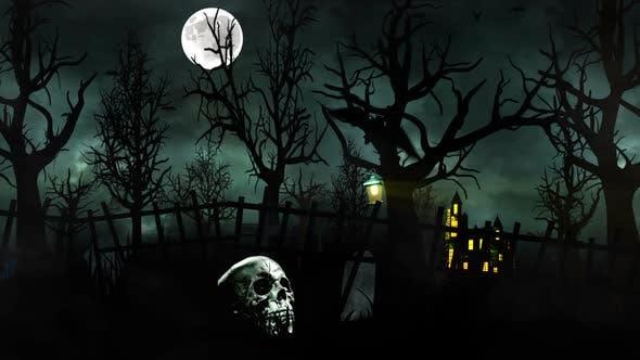 Thumbnail for Dark  Halloween Forest