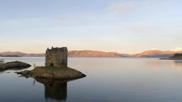 Thumbnail for Ruins of Castle Stalker in Scotland