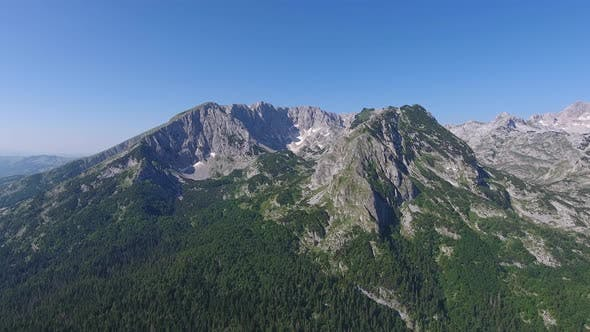 Thumbnail for Aerial of Mountains in Park Durmitor, Montenegro