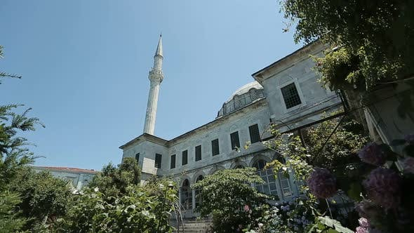 Thumbnail for Istanbul Ottoman Beylerbeyi Mosque Courtyard